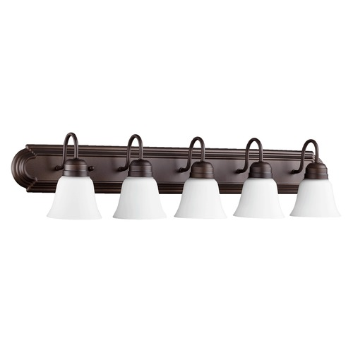 Quorum Lighting Quorum Lighting Oiled Bronze Bathroom Light 5094-5-86
