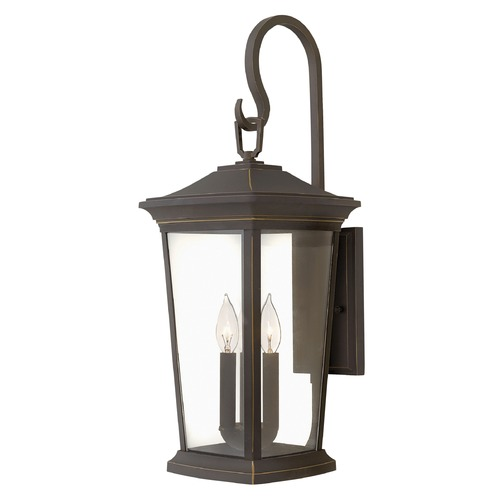 Hinkley Lighting Hinkley Lighting Bromley Oil Rubbed Bronze Outdoor Wall Light 2366OZ