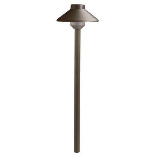 Kichler Lighting Kichler LED Path Light in Textured Architectural Bronze Finish 15821AZT