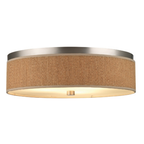 Philips Lighting 20-1/2 Inch Flushmount Drum Shade Ceiling Light F615636UNV