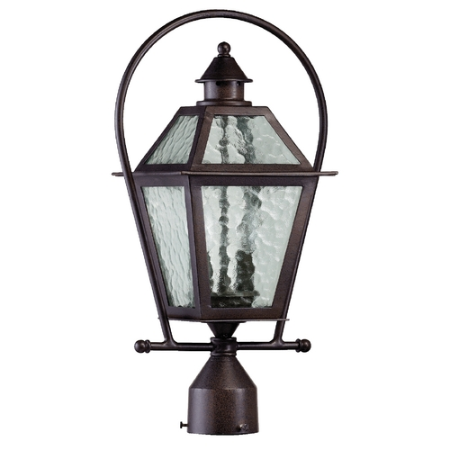 Quorum Lighting Quorum Lighting Bourbon Street Oiled Bronze Post Light 7921-2-86