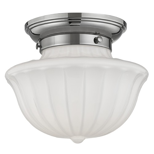 Hudson Valley Lighting Dutchess 1 Light Semi-Flushmount Light - Polished Nickel 5009F-PN
