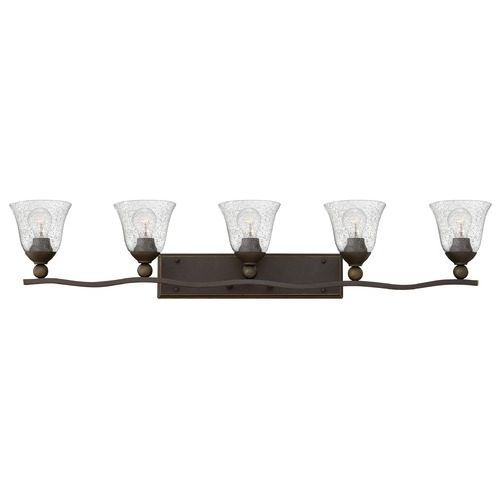 Hinkley Lighting Hinkley Lighting Bolla Olde Bronze Bathroom Light 5895OB-CL