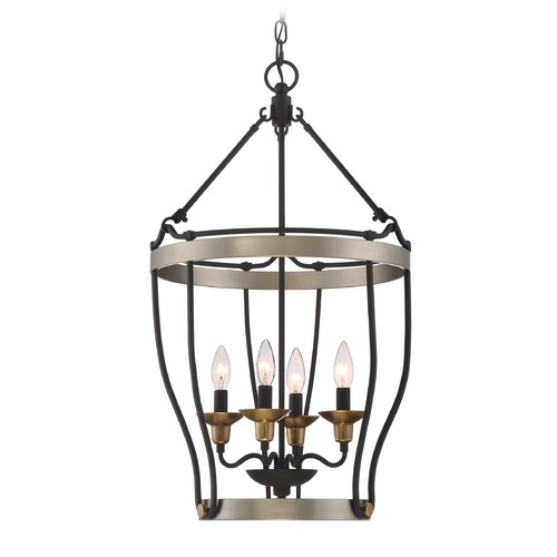 Quoizel Lighting Quoizel Lighting Castle Hill Antique Nickel Pendant Light CTH5204AN