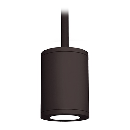 WAC Lighting 5-Inch Bronze LED Tube Architectural Pendant 4000K 2320LM DS-PD05-F40-BZ