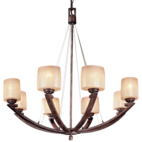 Minka Lavery Eight-Light Chandelier 1188-357