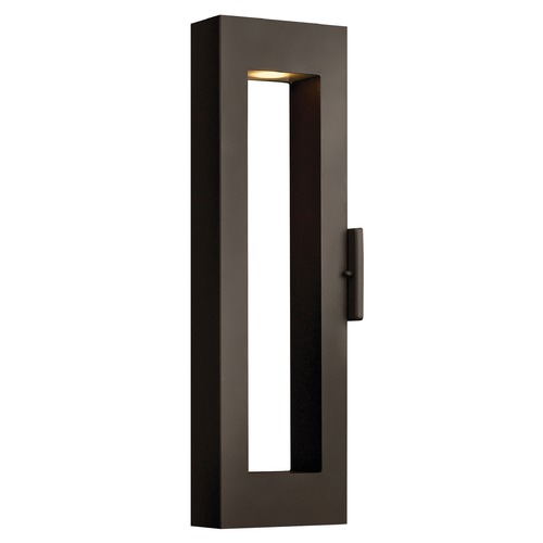 Hinkley Lighting Modern LED Outdoor Wall Light in Bronze Finish 1644BZ-LED