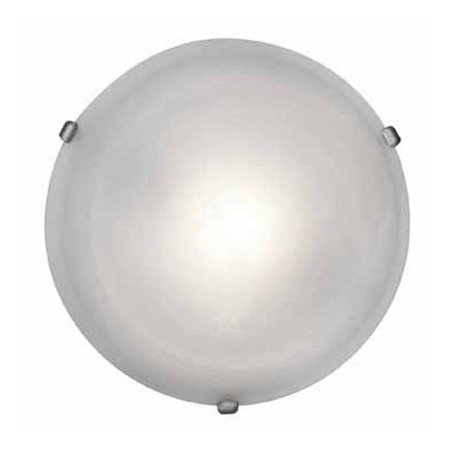 Access Lighting Access Lighting Nimbus Satin Nickel Flushmount Light C50050SATALBEN1313BS