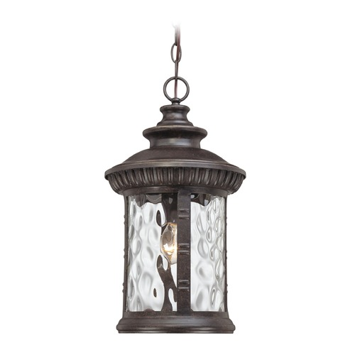Quoizel Lighting Quoizel Chimera Imperial Bronze Outdoor Hanging Light CHI1911IBFL