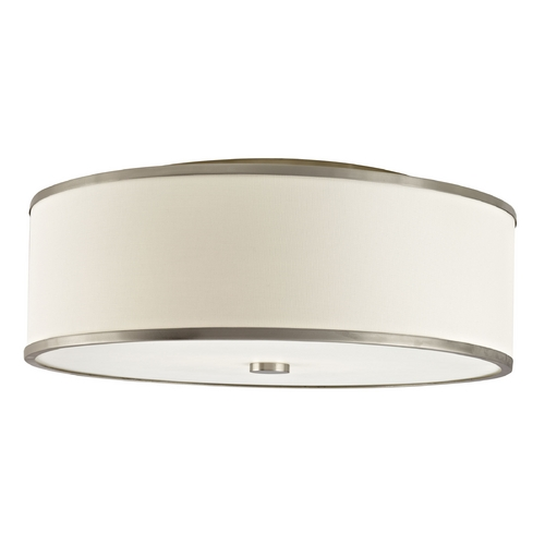 Hart Lighting Hart Lighting Corona 22 Satin Nickel Flushmount Light 10031140