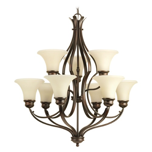 Progress Lighting Progress Lighting Applause Antique Bronze Chandelier P4037-20