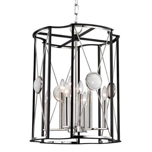 Hudson Valley Lighting Hudson Valley Lighting Cresson Polished Nickel Pendant Light 2218-PN