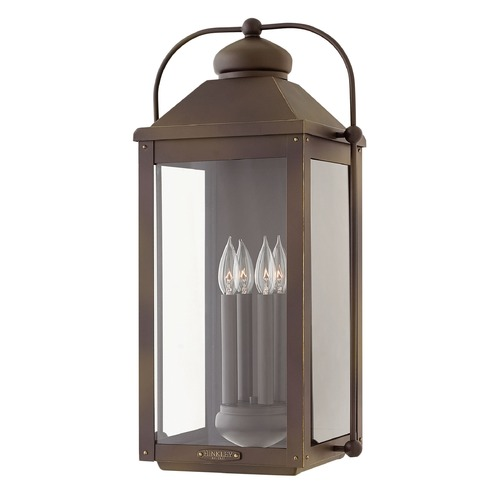 Hinkley Lighting Hinkley Lighting Anchorage Light Oiled Bronze Outdoor Wall Light 1858LZ