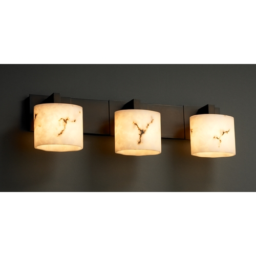 Justice Design Group Justice Design Group Lumenaria Collection Bathroom Light FAL-8923-30-DBRZ