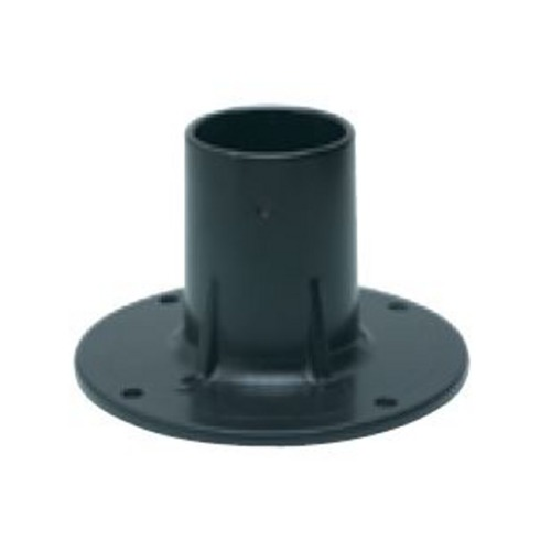 Wave Lighting Aluminum Flange Base for Posts 2403BK