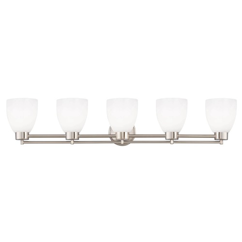 Design Classics Lighting Design Classics Salida Fuse Satin Nickel Bathroom Light 706-09 GL1028MB