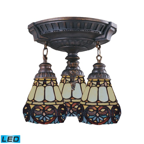 Elk Lighting Elk Lighting Mix-N-Match Aged Walnut LED Semi-Flushmount Light 997-AW-21-LED