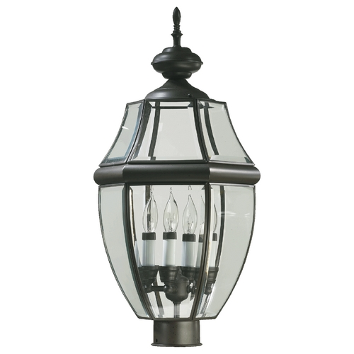 Quorum Lighting Quorum Lighting Carrington Bronze Post Light 744-4-36