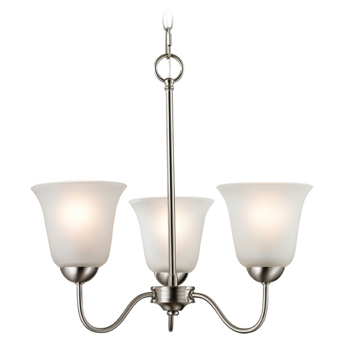 Cornerstone Lighting Cornerstone Lighting Conway Brushed Nickel Chandelier 1203CH/20