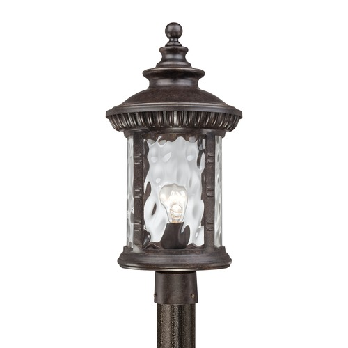 Quoizel Lighting Quoizel Chimera Imperial Bronze Post Light CHI9011IBFL