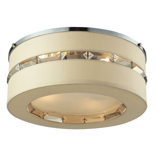Elk Lighting Elk Lighting Regis Polished Chrome Flushmount Light 31635/4