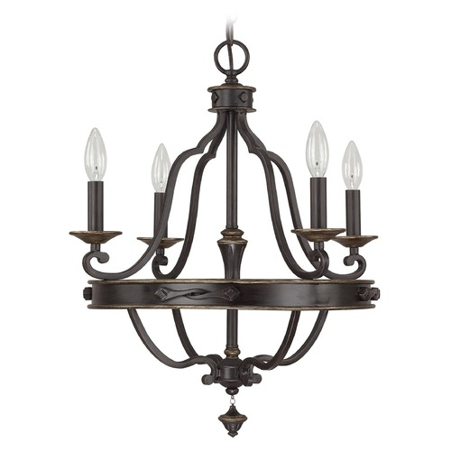 Capital Lighting Capital Lighting Wyatt Surrey Chandelier 4254SY-000