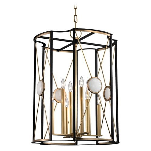 Hudson Valley Lighting Hudson Valley Lighting Cresson Aged Brass Pendant Light 2223-AGB