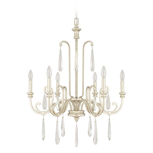 Capital Lighting Capital Lighting Cambridge Winter Gold Chandelier 413662WG