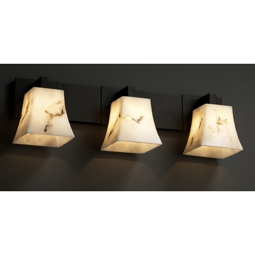 Justice Design Group Justice Design Group Lumenaria Collection Bathroom Light FAL-8923-40-MBLK