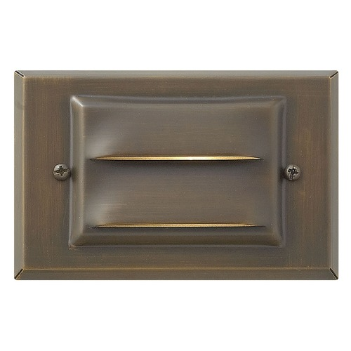 Hinkley Lighting Modern Recessed Deck Light in Matte Bronze Finish 1546MZ