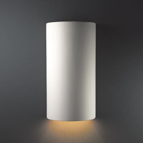 Justice Design Group Outdoor Wall Light in Bisque Finish CER-1160W-BIS