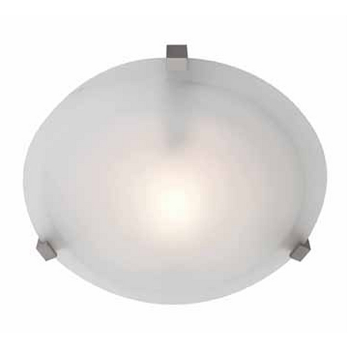 Access Lighting Access Lighting Cirrus Satin Nickel Flushmount Light C50061SATFSTEN1113BS