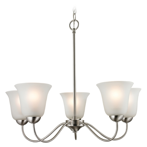 Cornerstone Lighting Cornerstone Lighting Conway Brushed Nickel Chandelier 1205CH/20
