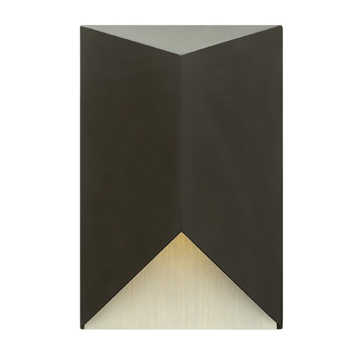 Hinkley Lighting Hinkley Lighting Vento Satin Black Outdoor Wall Light 2180SK