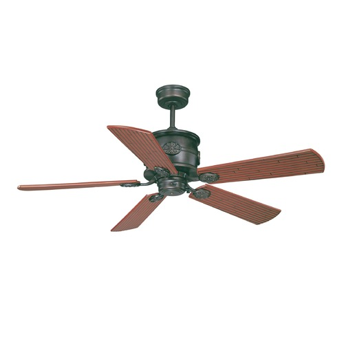 Savoy House Savoy House English Bronze Ceiling Fan Without Light 52-004-5CN-13