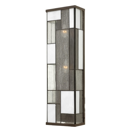 Hinkley Lighting Hinkley Lighting Mondrian Buckeye Bronze Outdoor Wall Light 2155KZ