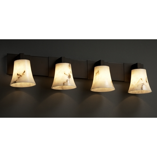 Justice Design Group Justice Design Group Lumenaria Collection Bathroom Light FAL-8924-20-DBRZ