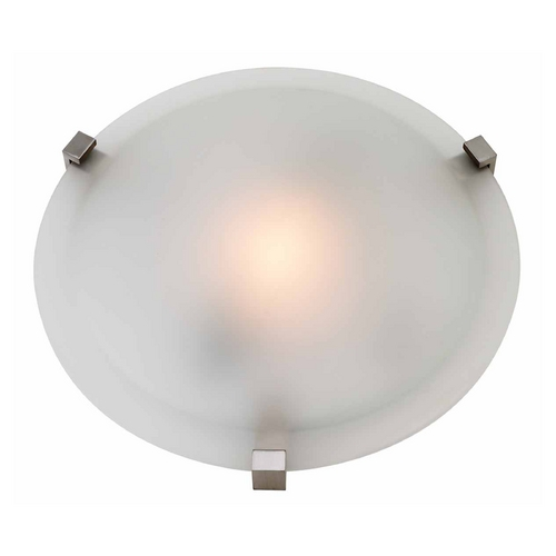 Access Lighting Access Lighting Cirrus Satin Nickel Flushmount Light C50063SATFSTEN1313BS