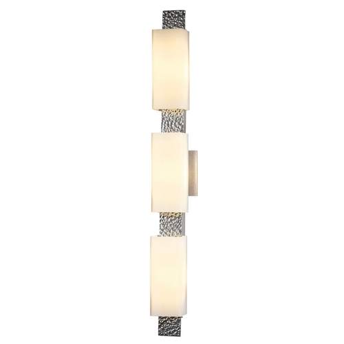 Hubbardton Forge Lighting Oceanus Vintage Platinum Bathroom Light - Vertical or Horizontal Mounting 207697-82-ZX441