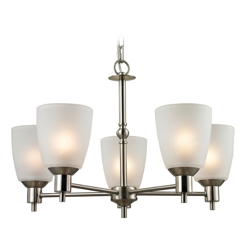 Cornerstone Lighting Cornerstone Lighting Jackson Brushed Nickel Chandelier 1305CH/20