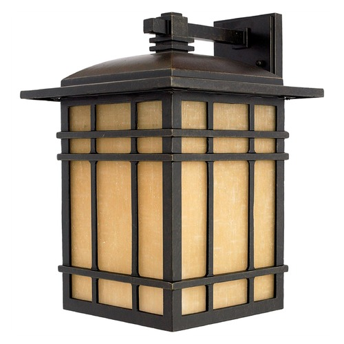 Quoizel Lighting Quoizel Hillcrest Imperial Bronze Outdoor Wall Light HC8511IBFL
