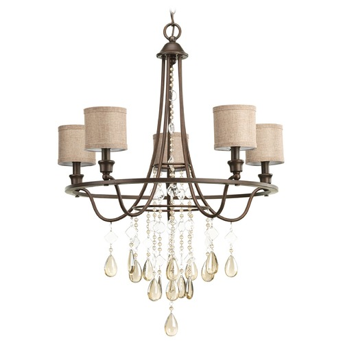 Progress Lighting Progress Lighting Flourish Cognac Chandelier P4805-72