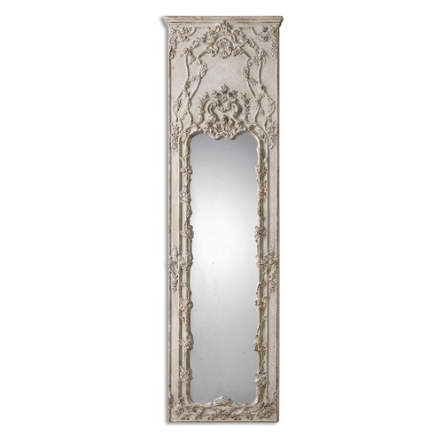Uttermost Lighting Uttermost Castellana Gray-Ivory Leaner Mirror 13914
