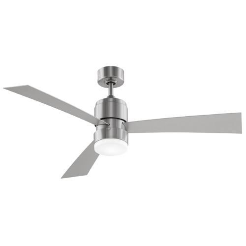 Fanimation Fans Fanimation Fans Zonix Brushed Nickel LED Ceiling Fan with Light FP4650BN