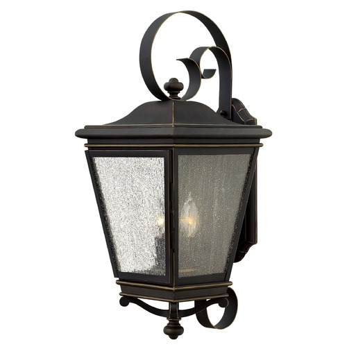 Hinkley Lighting Hinkley Lighting Lincoln Oil Rubbed Bronze Outdoor Wall Light 2468OZ