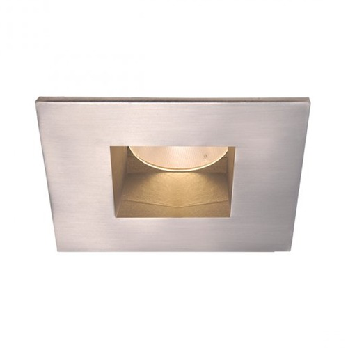 WAC Lighting WAC Lighting Square Brushed Nickel 2-Inch LED Recessed Trim 3000K 825LM 45 Degree HR2LEDT709PF830BN