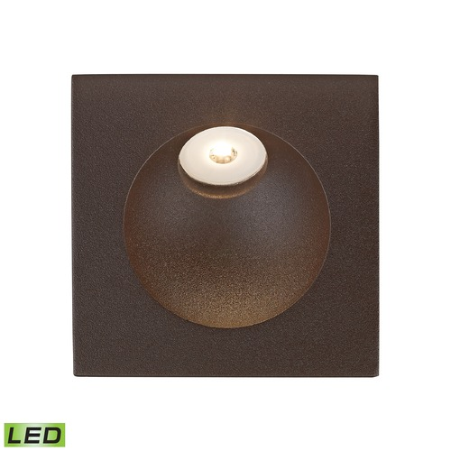 Alico Industries Lighting Alico Lighting Zone Matte Brown LED Recessed Step Light WSL6210-10-45