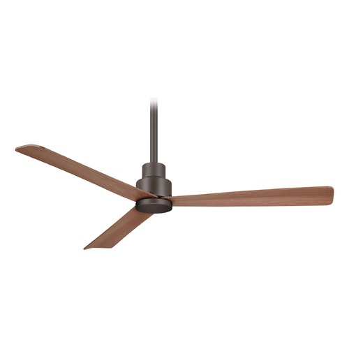 Minka Aire 44-Inch Minka Aire Simple Oil Rubbed Bronze Ceiling Fan Without Light F786-ORB