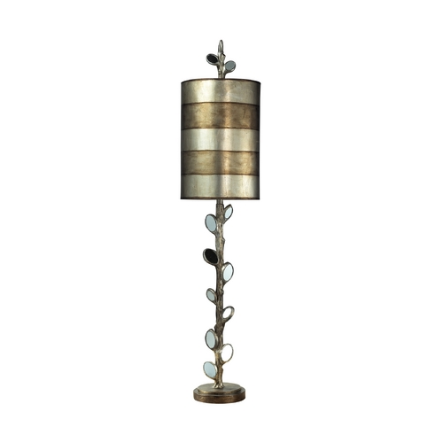 Dimond Lighting Table Lamp in Mirror and Antique Silver Finish 93-9111