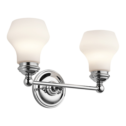 Kichler Lighting Kichler Lighting Currituck Chrome Bathroom Light 45487CH